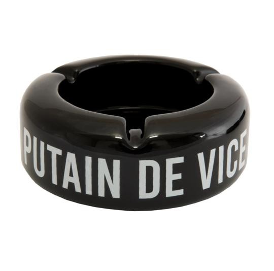 "Cendrier ""Putain de vice"""