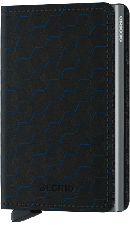 Slimwallet optical black-titanium